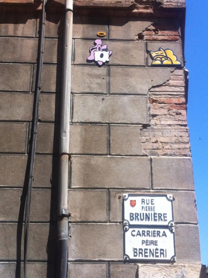 Rue Pierre Brunière, 17 juin 2014, artiste inconnu