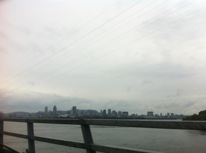 Vue de Montréal du pont Victoria