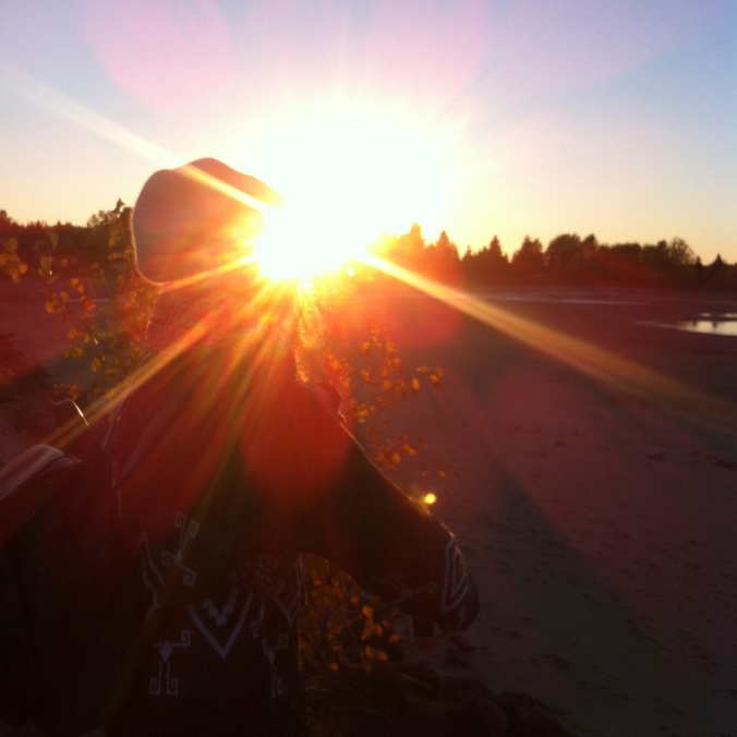 Candice, Lac Saint-Jean - 12 octobre 2014 - Droits réservés