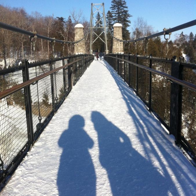 Québec, Chutes de Montmorency - 13 février 2015 - Droits réservés